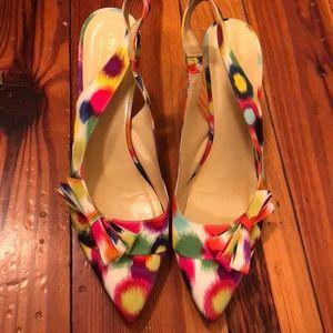 Kate Spade sling back heels